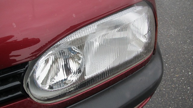 světlo na autě
